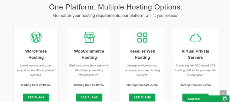 greengeeks hosting Pricing